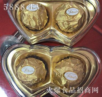 艾迪莎巧克力心型产品图