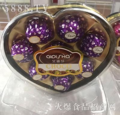 艾迪莎心型巧克力产品图