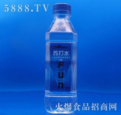 小趣苏打水饮料瓶380ml