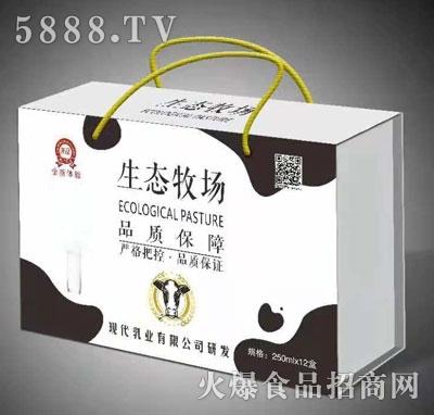 生态牧场乳味饮料(箱)