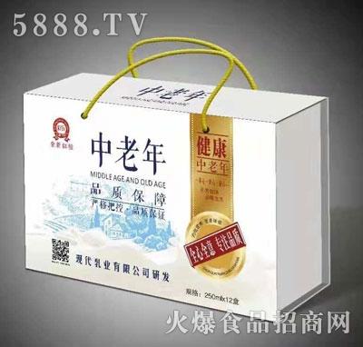 中老年乳味饮料(盒装)