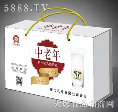 中老年乳味饮料(礼盒)