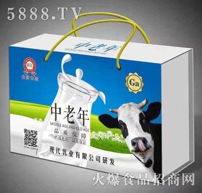 中老年乳味饮料(箱)