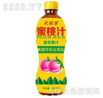 乳酸菌蜜桃汁500ml