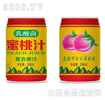 乳酸菌蜜桃汁246ml