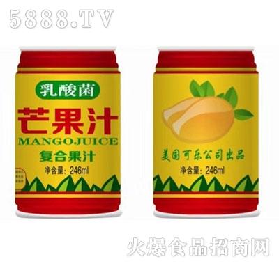 乳酸菌芒果汁246ml