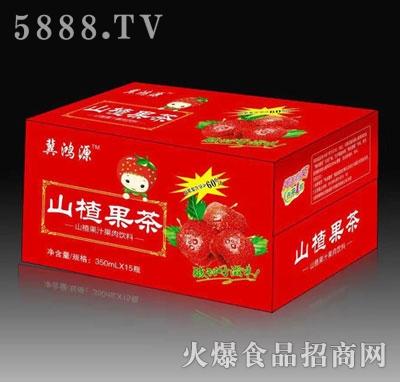 冀鸿源山楂果茶350mlx15瓶