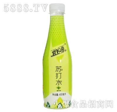 宜泉苏打水薄荷味400ml