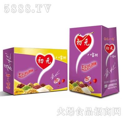 初元八宝黑米紫薯粥礼盒装