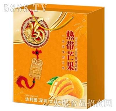 达利园热带芒果果味饮料250mlx12盒