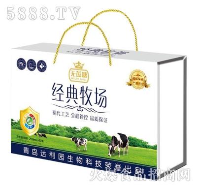 青岛达利园无蔗糖经典牧场复合蛋白饮料250mlx12盒
