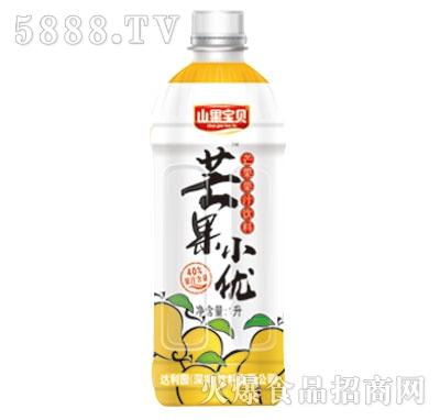山果宝贝芒果小优果汁饮料1L