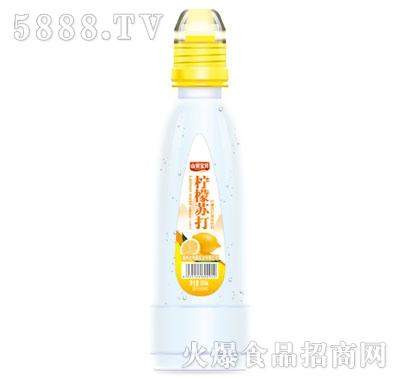 山果宝贝柠檬苏打果味饮料500ml