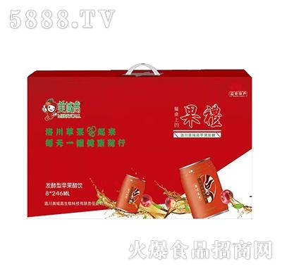 美域高苹果醋饮发酵型24x251ml