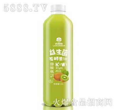 老连队益生菌发酵猕猴桃果汁饮料1.25L
