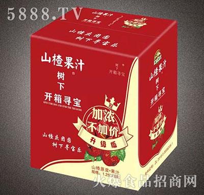 树下寻宝山楂果汁1.25Lx6瓶,山楂汁,山楂饮料,山楂树下