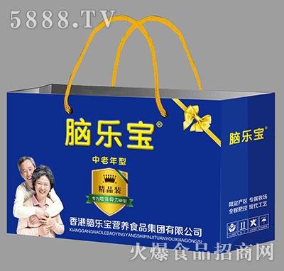 脑乐宝中老年高钙型乳酸菌手提袋