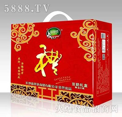 苗翠花豆奶礼盒