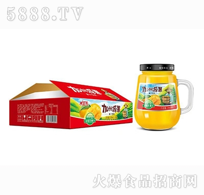 加州源果芒果汁350mlx15瓶