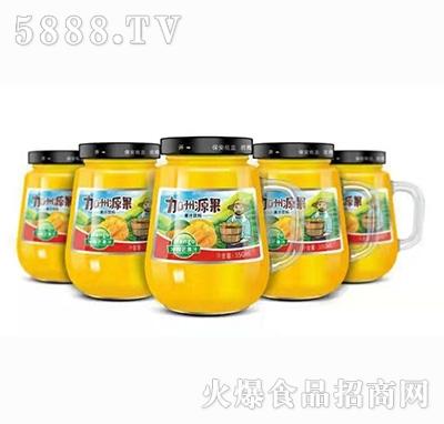 加州源果芒果汁350ml