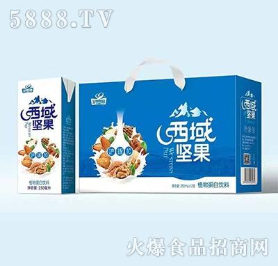 伊思特西域坚果植物蛋白饮品250mlx12盒