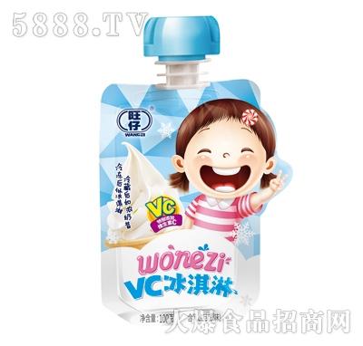 旺仔VC冰淇淋�品原味100g