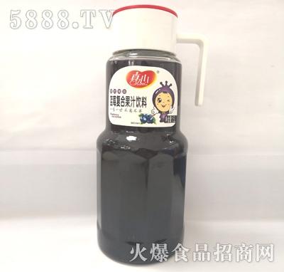 真心蓝莓复合果汁饮料1.5L