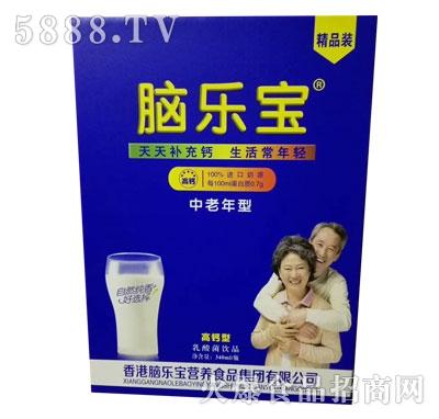 脑乐宝中老年高钙型乳酸菌饮品340ml