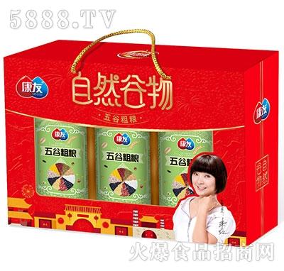 康友五谷五粮饮品礼盒