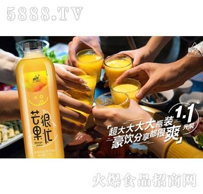 喔能芒果味混合果汁饮料大瓶装
