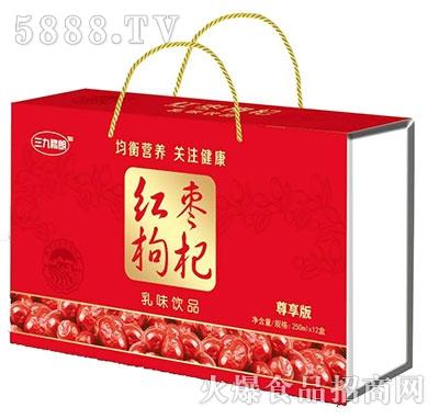 三九穆朗红枣枸杞乳味饮料
