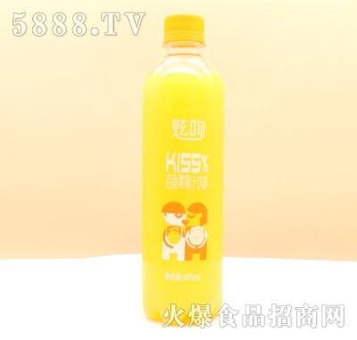 炫吻百香果果汁饮料480ml