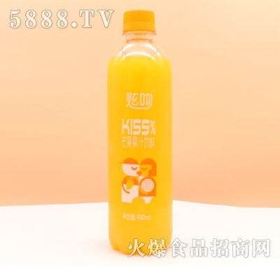 炫吻芒果果汁饮料480ml
