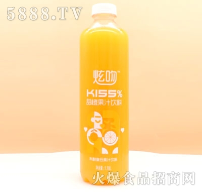 炫吻甜橙果汁饮料1.18L
