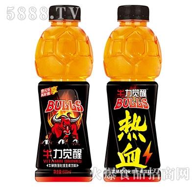 牛力觉醒牛磺酸强化维生素饮料(热血)600ml