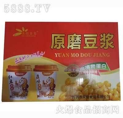 豆聪磨客原磨豆浆饮品箱装产品图