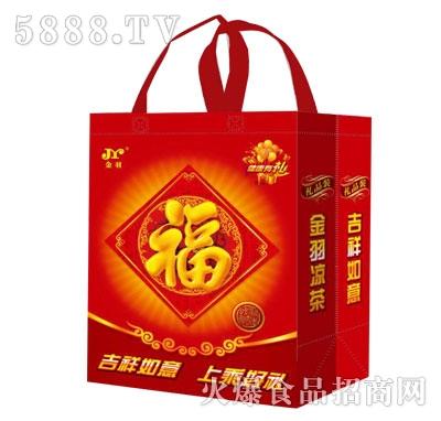 礼袋礼盒装310ml红罐凉茶