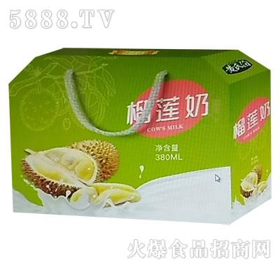 黄氏伯榴莲奶产品图