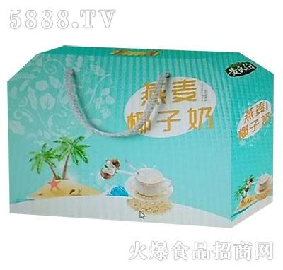 黄氏伯燕麦椰子奶产品图