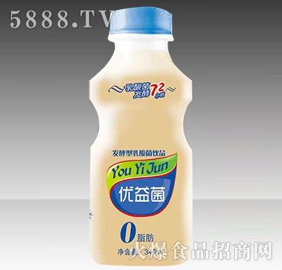 优益菌发酵型乳酸菌饮品340ml