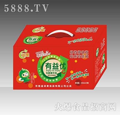 润果有益优乳酸菌饮品340mlx12罐