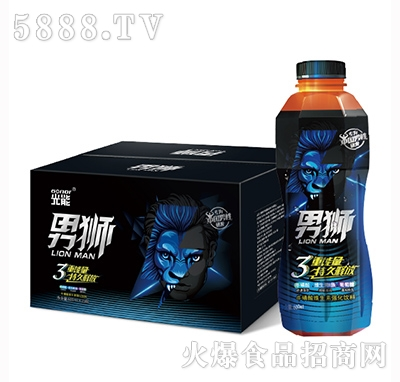 光能男狮牛磺酸维生素强化饮料600mlx15瓶