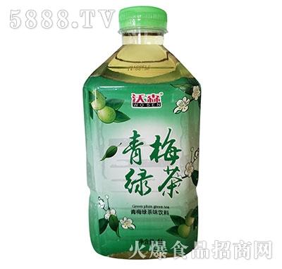沃森青梅绿茶1L