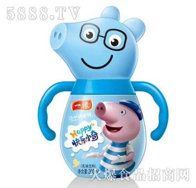 一浓快乐小奇乳味饮料蓝瓶200ml
