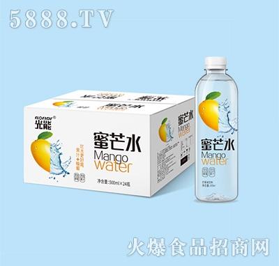 光能蜜芒水果味饮料箱装+瓶子