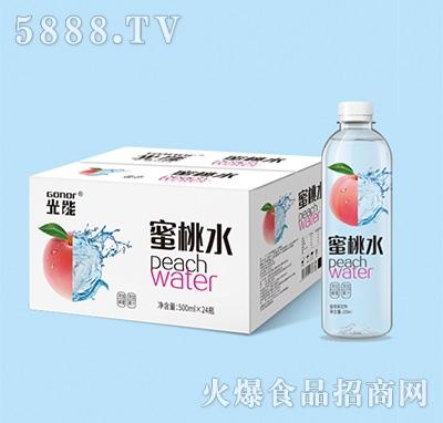 光能蜜桃水果味饮料箱装+瓶子