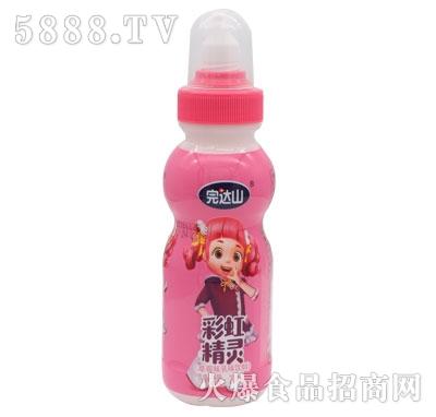 完达山彩虹精灵草莓味乳味饮品200ml产品图