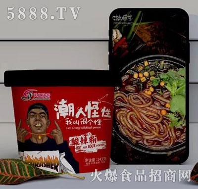 天虹欣秀潮人怪性酸辣粉143g