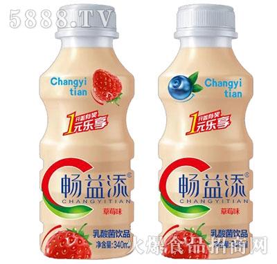 畅益添乳酸菌草莓味340ml