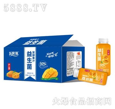 乐果滋益生菌发酵芒果汁